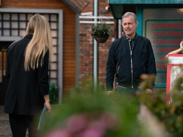 Sarah and Nick on the first episode of Coronation Street on June 30, 2021