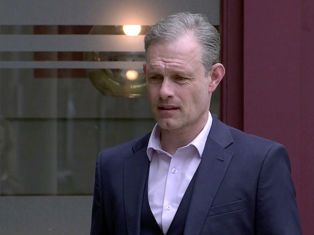 Nick on the second episode of Coronation Street on June 28, 2021