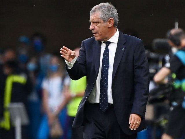 Portugal manager Fernando Santos on June 15, 2021