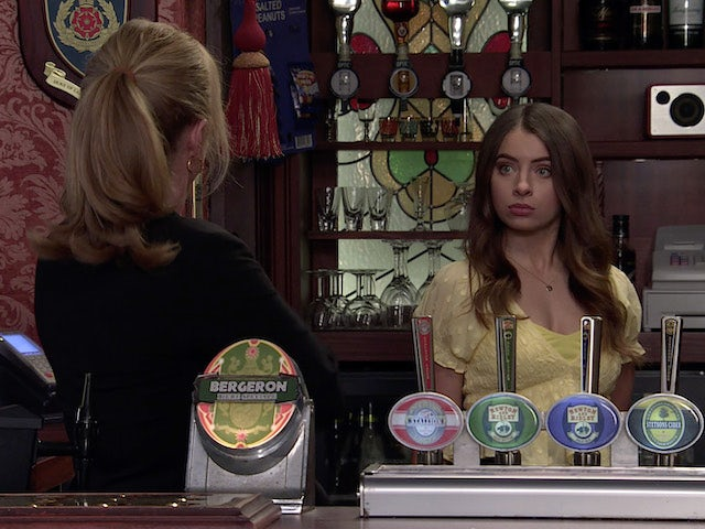 Daisy on the second episode of Coronation Street on June 28, 2021