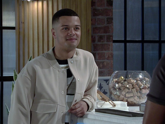 Danny on the first episode of Coronation Street on June 28, 2021