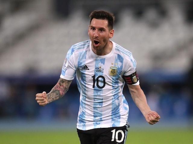 Copa America Team of the Week - Messi, Neymar, Casemiro
