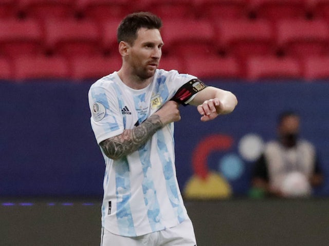 Lionel Messi equals Argentina record in Copa America win
