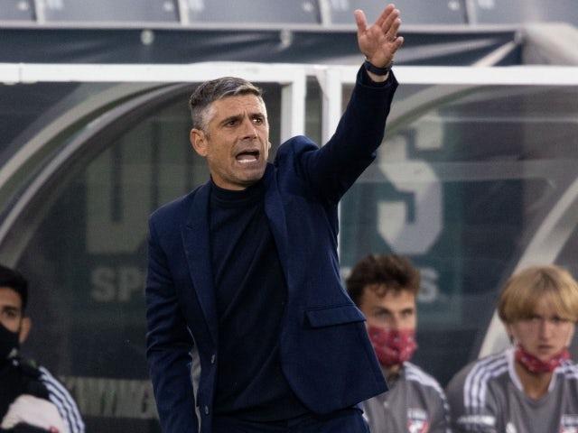 FC Dallas head coach Luchi Gonzalez on May 30, 2021