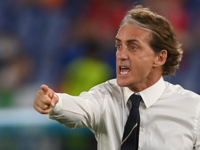 Roberto Mancini: 'We will not settle for a draw against Wales'