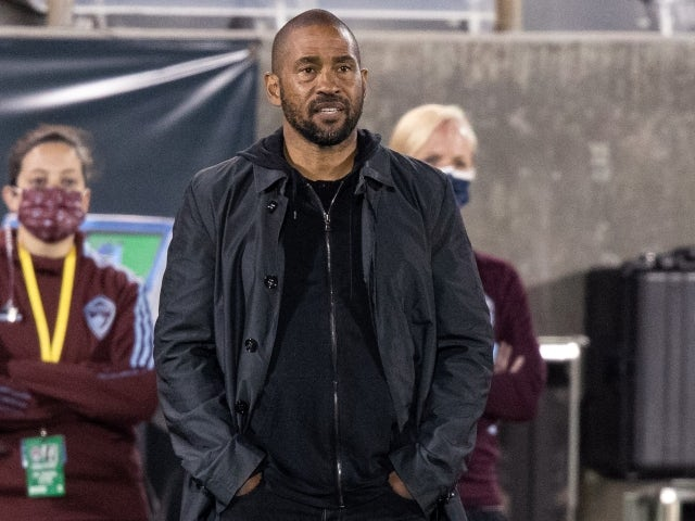 Colorado Rapids head coach Robin Fraser pictured on May 30, 2021