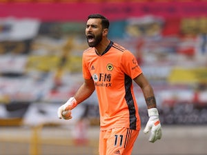 Roma 'agree terms with Wolves keeper Rui Patricio'