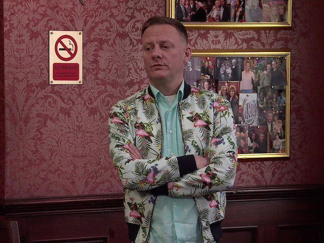 Sean on the second episode of Coronation Street on June 28, 2021