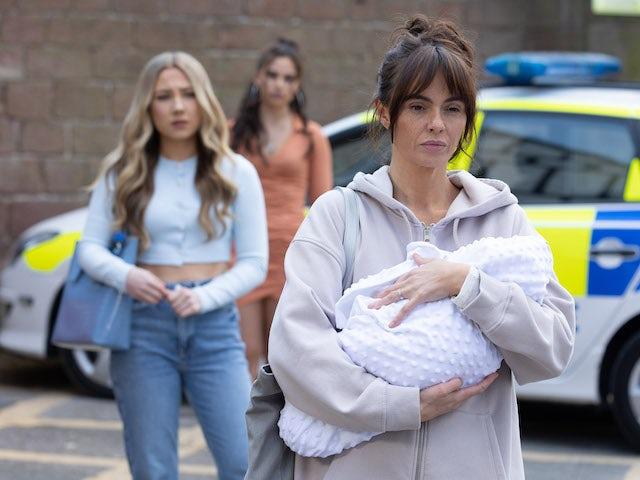 Mercedes on Hollyoaks on June 24, 2021