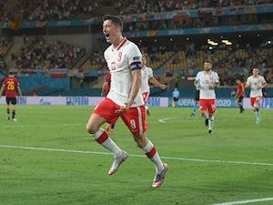 Spain 1-1 Poland: Lewandowski earns Sousa's side a point