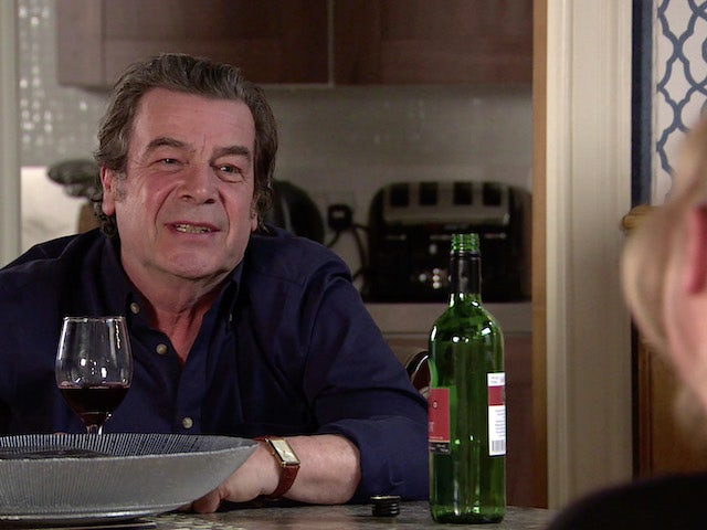 Johnny on the second episode of Coronation Street on June 30, 2021