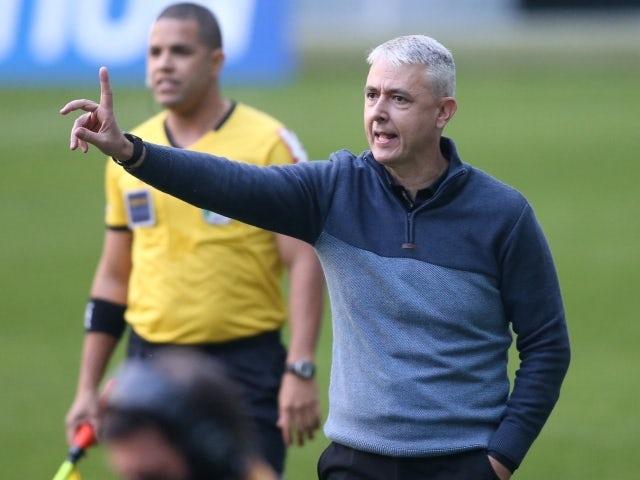 Gremio manager Tiago Nunes on June 13, 2021