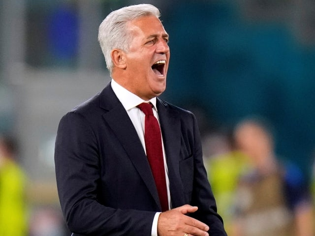 Switzerland manager Vladimir Petkovic on June 16, 2021