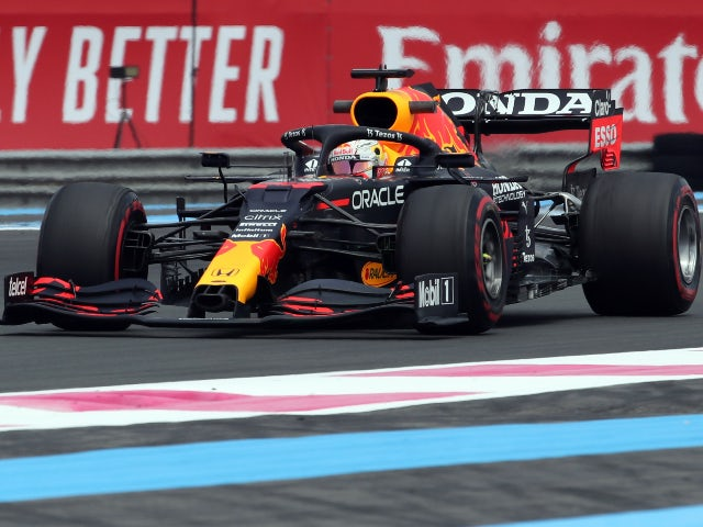 Max Verstappen fastest in second French GP practice