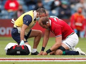 Lions suffer Alun Wyn Jones injury blow ahead of South Africa Test