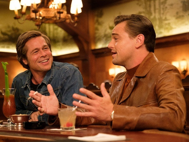 Brad Pitt and Leonardo DiCaprio in Once Upon A Time... In Hollywood
