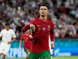 Cristiano Ronaldo in action for Portugal in June 2021
