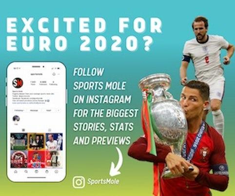Euro 2020 banner Instagram AMP