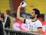 Ilkay Gundogan pictured for Germany in June 2021