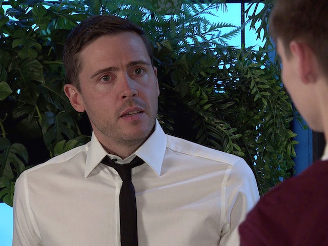 Todd on the second episode of Coronation Street on July 12, 2021