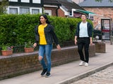 Alya and Ryan on the second episode of Coronation Street on July 12, 2021