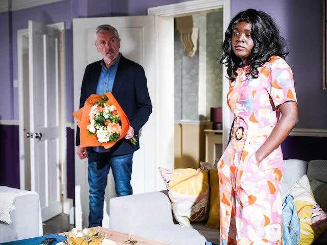 Rocky and Mila on EastEnders on June 29, 2021