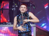 Olly Alexander pictured in June 2019