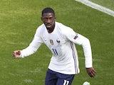 France forward Ousmane Dembele pictured on June 19, 2021