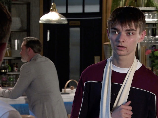 Will on the second episode of Coronation Street on July 12, 2021