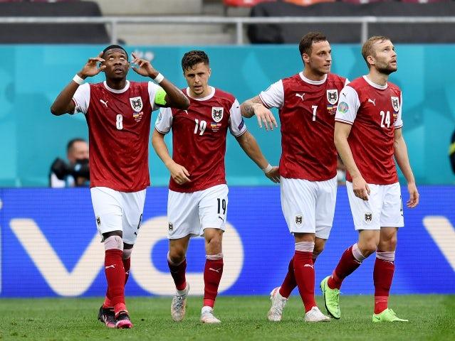 Result: Ukraine 0-1 Austria: Baumgartner goal sends Austria into last 16