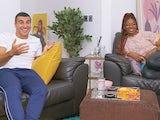 Adam Gemili and Kadeena Cox on Celebrity Gogglebox