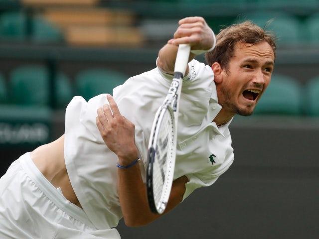 Result: Daniil Medvedev reaches third round at Wimbledon
