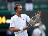 Daniil Medvedev pictured at Wimbledon on July 3, 2021