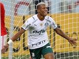 Palmeiras' Danilo celebrates scoring their second goal on June 30, 2021