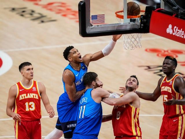 Hawks stumble as dogged Bucks take playoff series lead