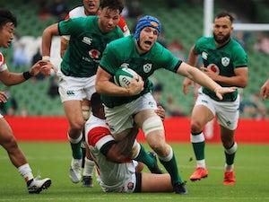Ireland edge out Japan as fans return to Aviva Stadium