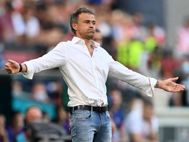 Antrenorul Spaniei, Luis Enrique, pe 28 iunie 2021