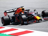 Max Verstappen pictured during practice for the Austrian Grand Prix on July 3, 2021