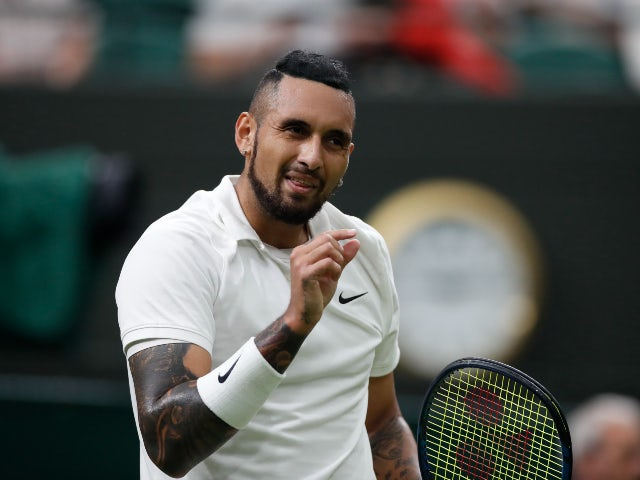 Nick Kyrgios and Venus Williams advance in Wimbledon mixed doubles