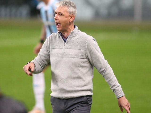 Gremio manager Thiago Nunes on June 25, 2021