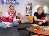 Anne-Marie and Ed Sheeran on Celebrity Gogglebox