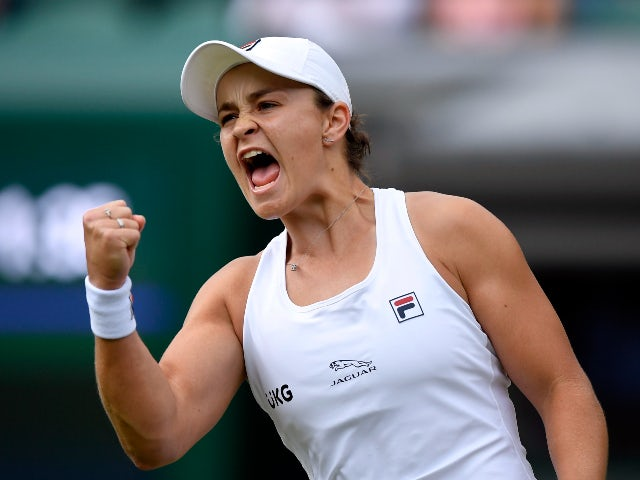 Wimbledon day nine: Ashleigh Barty headlines women's last eight