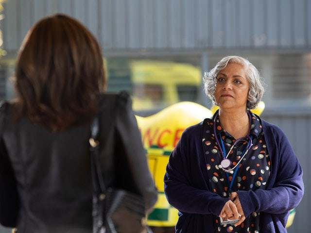 Misbah on Hollyoaks on July 12, 2021