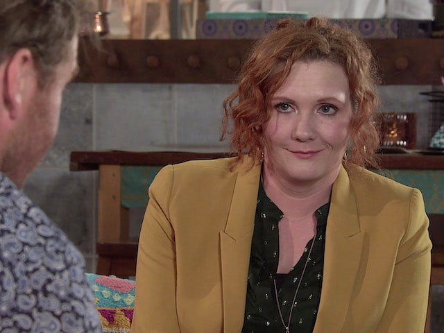 Fiz on the second episode of Coronation Street on July 21, 2021