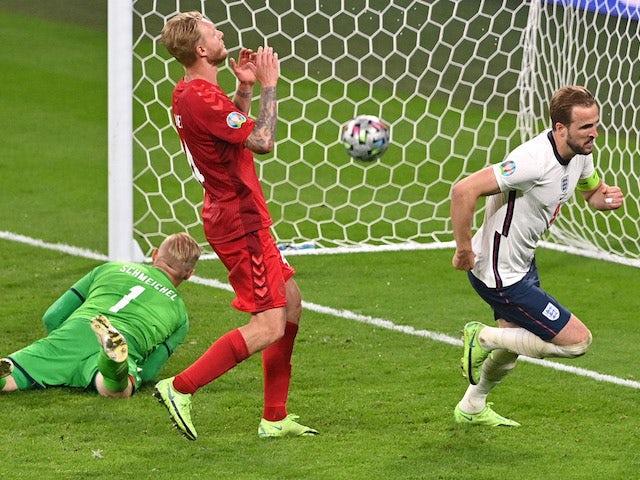 Result: England 2-1 Denmark: Kane sends Three Lions into Euro 2020 final