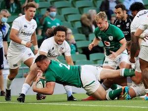 Ronan Kelleher scores four tries as Ireland thrash United States