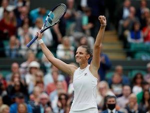 Wimbledon day 13: Ashleigh Barty and Karolina Pliskova prepare for women's final