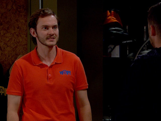 Ben on the second episode of Emmerdale on July 22, 2021
