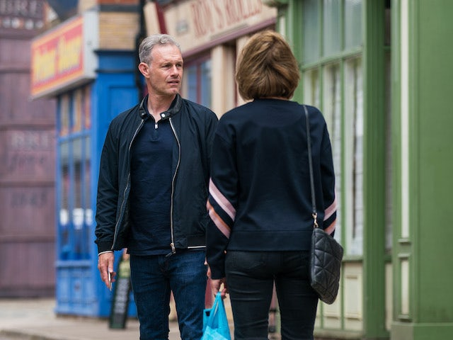 Nick on the second episode of Coronation Street on July 21, 2021