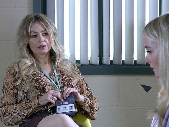 Laura on the second episode of Coronation Street on July 21, 2021